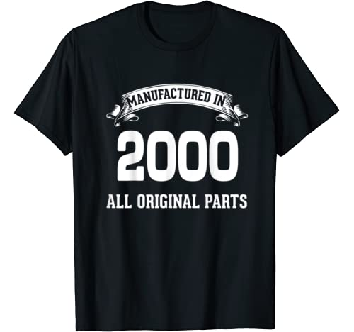 Funny 20th Birthday Shirts 20 Years Old Gifts T Shirt