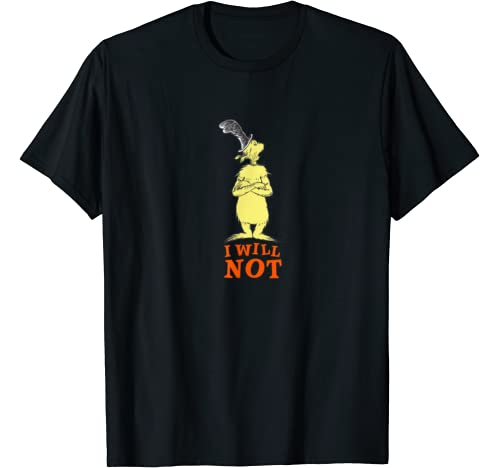 "Dr. Seuss Green Eggs And Ham ""I Will Not"" T Shirt"