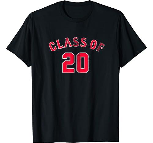 Class Of 2020 Baseball Team Logo Style Senior Gift T Shirt