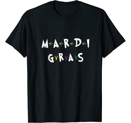 Mardi Gras 2020 Costumes Friend Style Occasion Gift Festival T Shirt