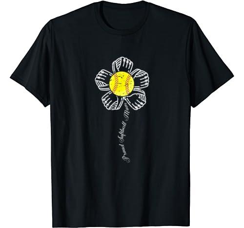 Proud Softball Mom Shirt Baseball Mother S Gift T Shirt