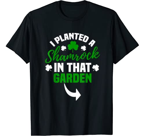 St Pattys Day Matching Couple Pregnancy Announcement T Shirt