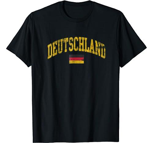 Deutschland Flag Of German Pride Germany Flag T Shirt