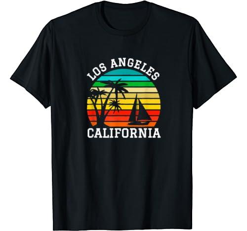 Los Angeles California Shirts Matching Family Vacation T Shirt