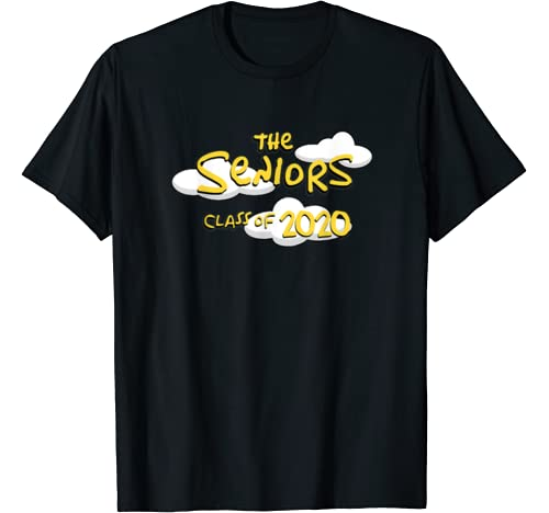 Class Of 2020 Senior Year 90s Tv Style Graduation For Grad T Shirt