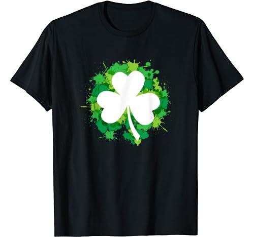 St Patricks Day   With Shamrock Be Irish On Pattys Day Gift T Shirt