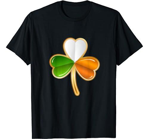 Irish Shamrock Flag St Patricks Day Gift C Lover T Shirt