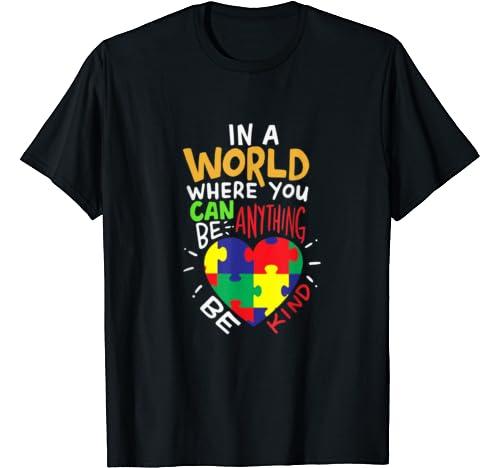Autism Awareness Be Kind T Shirt