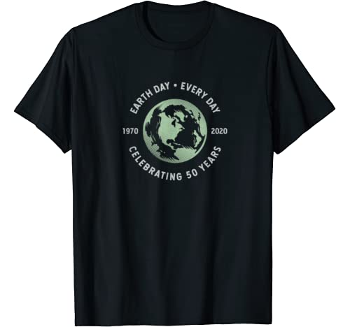 Earth Day Every Day   Grunge 50th Anniversary Earth Day Gift T Shirt