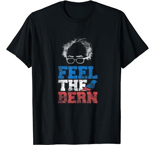 Bernie 2020   Feel The Bern Bernie Sanders Sparrow Bird T Shirt