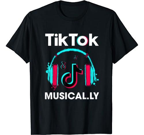 Retro Tok Tik Dance Dj Music Funny Sksksk Christmas Apparel T Shirt