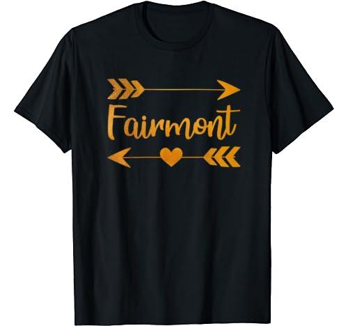 Fairmont Wv West Virginia Funny City Home Usa Women Gift T Shirt