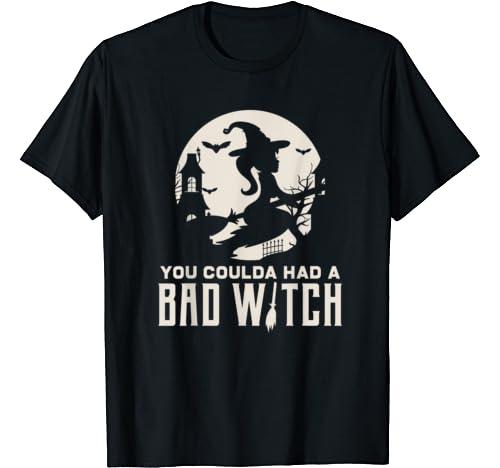 Love Halloween Bad Witch Fun Gift Design Idea T Shirt