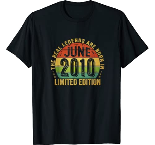 The Real Legend Are Born In June 2010 Limited Edition T Shirt