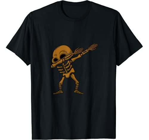Dabbing Halloween Skeleton | Dab Hip Hop Skull S T Shirt