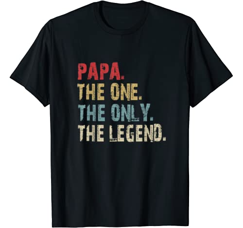 One Legend Vintage Fathers T shirt product image