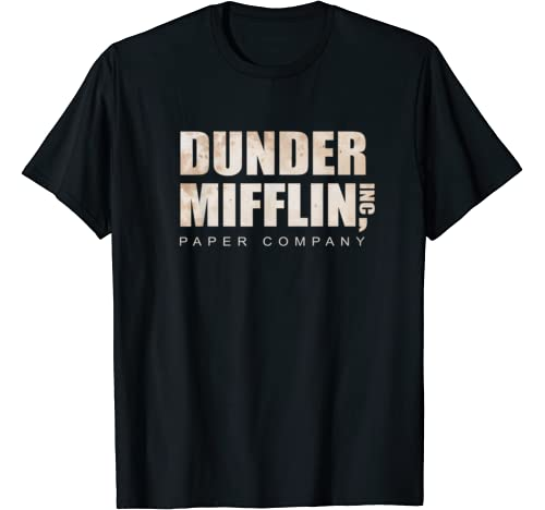 The Company Dunderrr Paper Mifffflin Funny Office T Shirt
