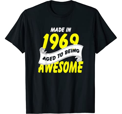 51st Birthday Shirt Made In 1969 To Awesome Gifts For You T Shirt