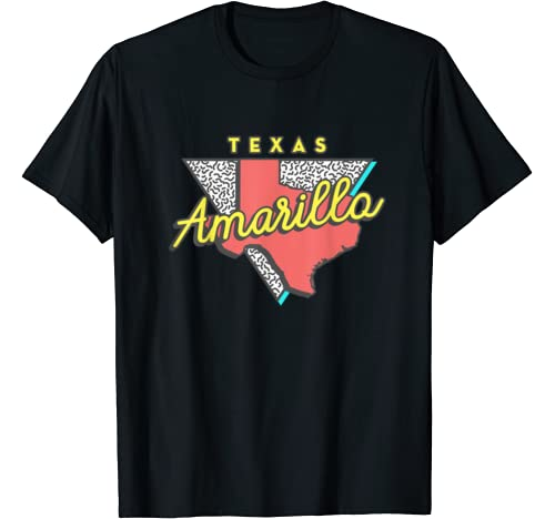 Amarillo, Texas State Pride Family Vacation Traveling T Shirt