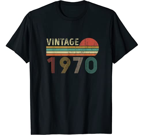 Vintage 1970 Funny 50 Years Old 50th Birthday T Shirt