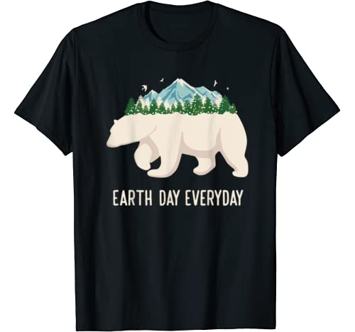 Earth Day Everyday Tee Earth Climate Change Save The Planet T Shirt