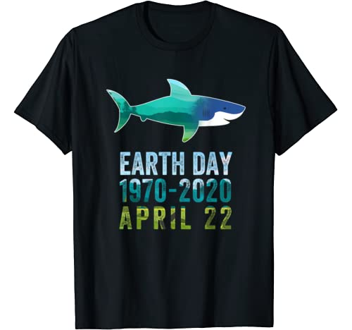 Shark Earth Day 50th Anniversary April 22nd Costume T Shirt