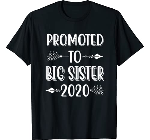 Promoted To Big Sister Est 2020 T Shirt
