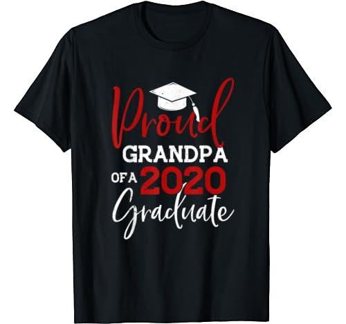 Proud Grandpa Of A Class Of 2020 Graduation 2020 Senior Gift T Shirt