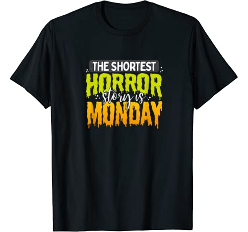 Hate Mondays Gift For Office Workers And Schools Kids T Shirt