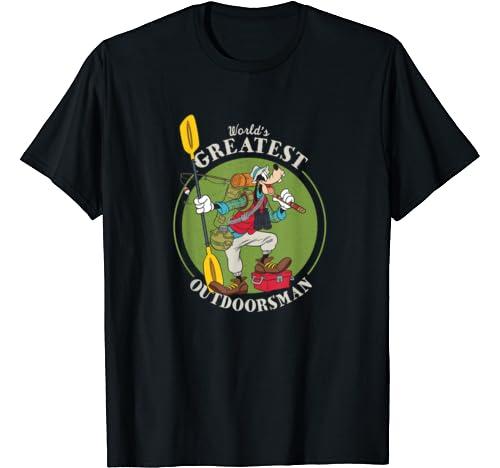 Disney Goofy Outdoorsman Father's Day T Shirt