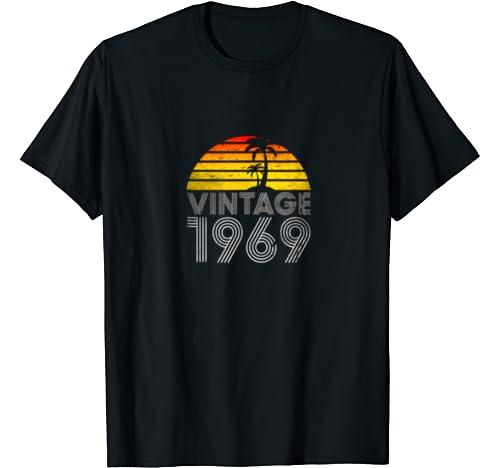 50th Birthday For Men & Woman , 1969 Birthday T Shirt