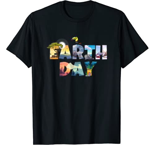 Earth Day Environmental Protection Celebration Better World T Shirt
