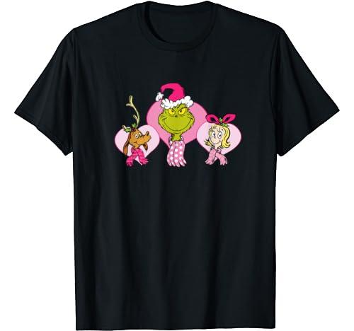 Dr. Seuss Pink Heart Trio T Shirt