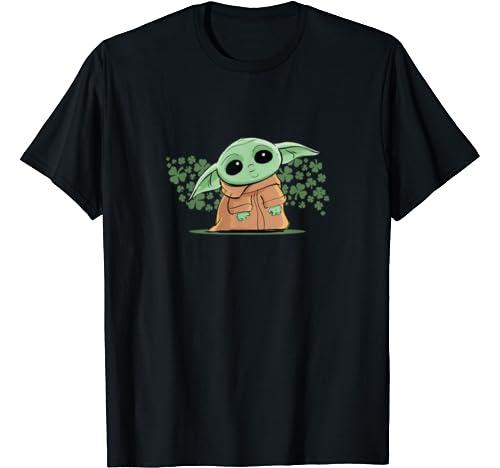 Star Wars The Mandalorian The Child Green St. Patrick's Day T Shirt