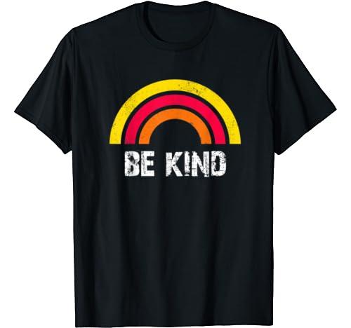 Be Kind Rainbow T Shirt