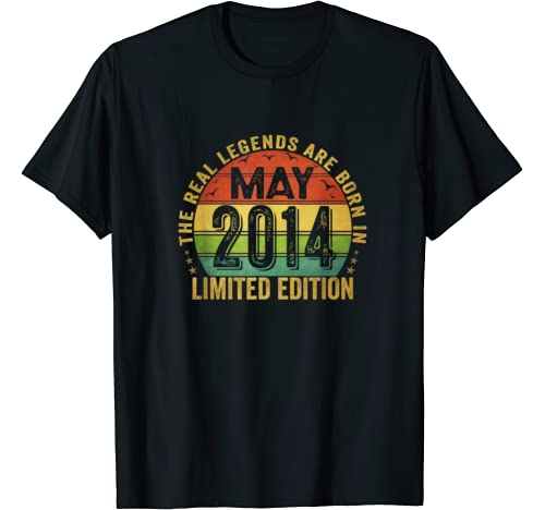 The Real Legend Are Born In May 2014 Limited Edition T Shirt