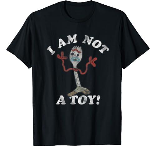 Disney Pixar Toy Story Forky I Am Not A Toy T Shirt