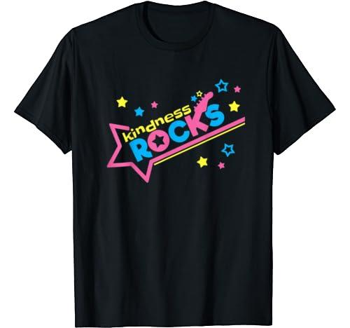 Kindness Rocks Anti Bullying Be Kind Rockstar Unity Day Week T Shirt