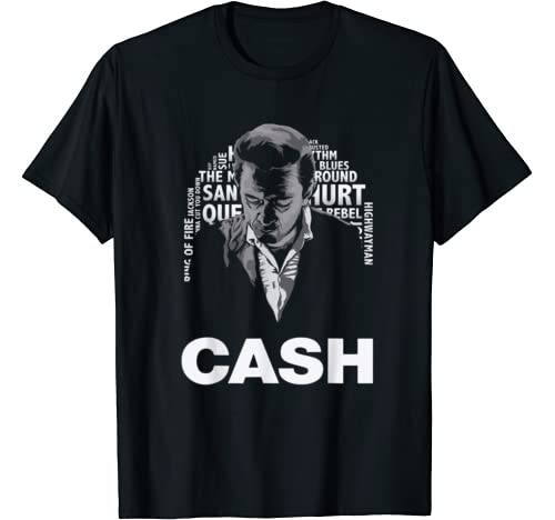 Retro Johnny Tees Cash Funny Music Love Outlaw For Women Men T Shirt