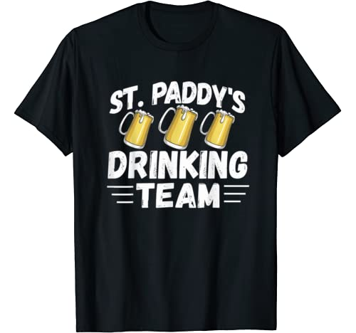 St Patricks Day Drinking Team Shirts   Fun St. Pattys Day T Shirt