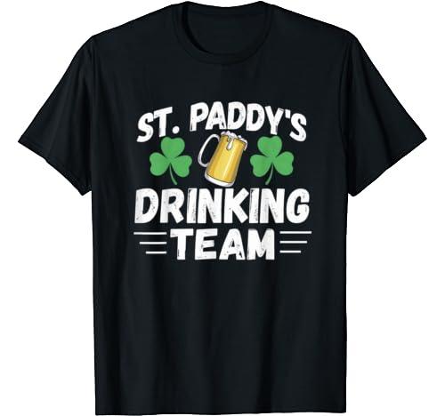 St Patricks Day Drinking Team Shirt   Beer St. Pattys Day T Shirt