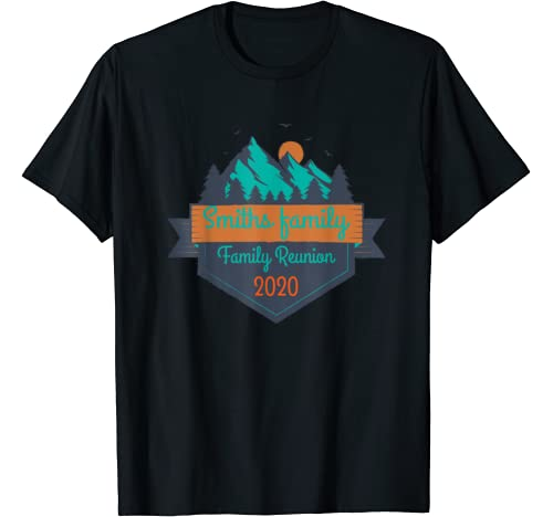 Outdoor Sports Tees   Smiths Family   Family Reunion 2020 T Shirt