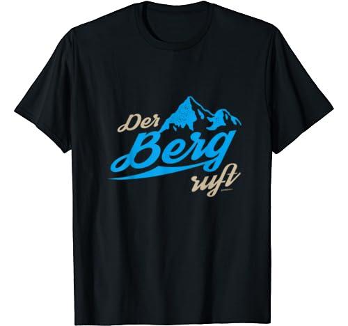 Trachten T-Shirt Der Berg ruft: Odzież