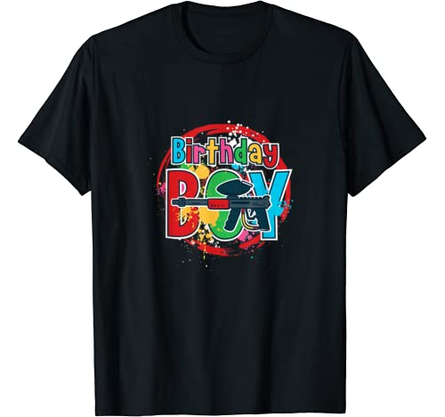 Birthday Boy, Paintball Shooting, Paintball Near Me T Shirt