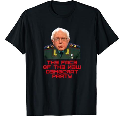 The New Face Of The Democrat Party Bernie Sanders Communist T Shirt