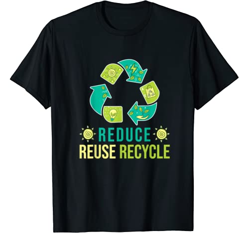 Reduce Reuse Recycle Tee   Happy Earth Day 2020 T Shirt