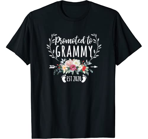 Promoted To Grammy Shirt Est 2020 Mother's Day New Mama T Shirt
