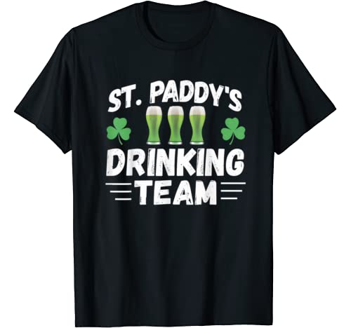 St Patricks Day Drinking Team Shirt   Cool St. Pattys Day T Shirt