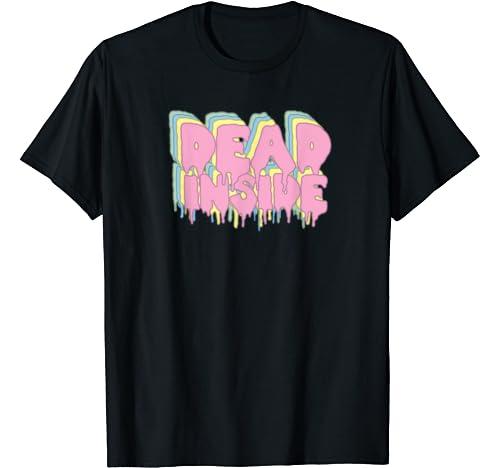 Dead Inside   Pastel Goth Aesthetic Clothing, Creepy Cute T Shirt