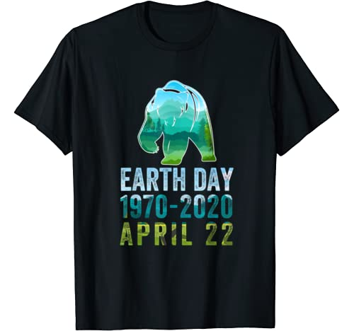 Bear Earth Day 50th Anniversary April 22nd Costume T Shirt